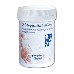 TROPIC MARIN O-MEGAVITAL MICRO 60G – THỨC ĂN DẠNG BỘT CHO CÁ VÀ SAN HÔ